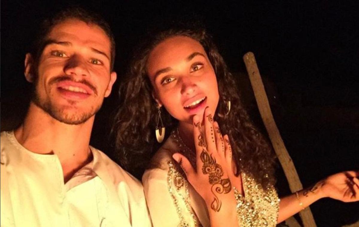 José Loreto e Débora Nascimento voltaram a ficar juntos (Foto: Reprodução) Globo