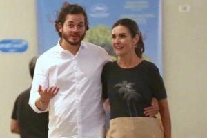 Fátima Bernardes e o namorado, Túlio Gadêlha (Foto: Thiago Martins/AgNews)