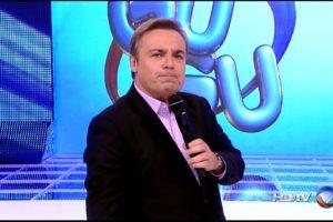 O apresentador Gugu Liberato. (Foto: Reprodução)