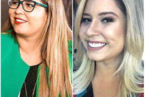 Marília Mendonça antes e depois (Imagem Reprodução Instagram)