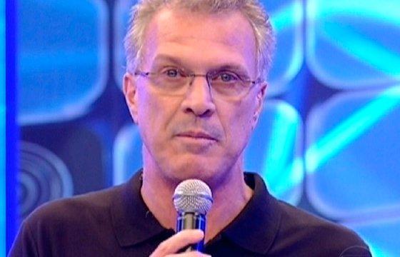 Pedro Bial na Globo (Foto: Reprodução)