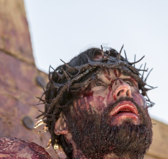 Jesus crucificado Record