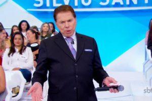 O apresentador Silvio Santos resolveu repaginar o visual antes de voltar ao SBT (Foto: Reprodução)