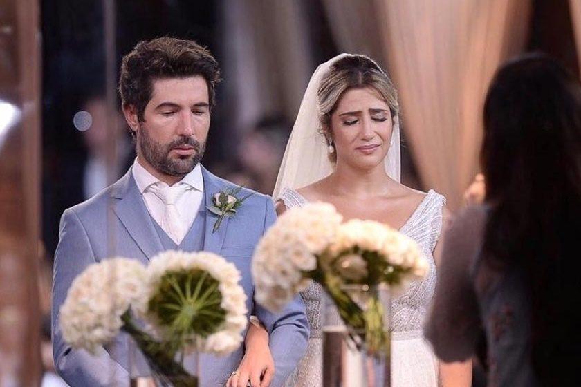 O tão comentado casamento de Sandro Pedroso e Jéssica Costa (Foto: Reprodução)