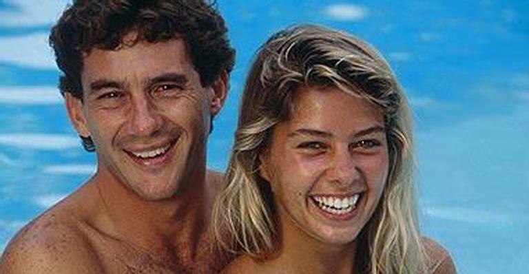 Adriane Galisteu e Ayrton Senna (Foto: Reprodução)