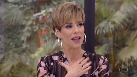 Ana Furtado no comando do Mais Você (Foto: Reprodução/Globo)