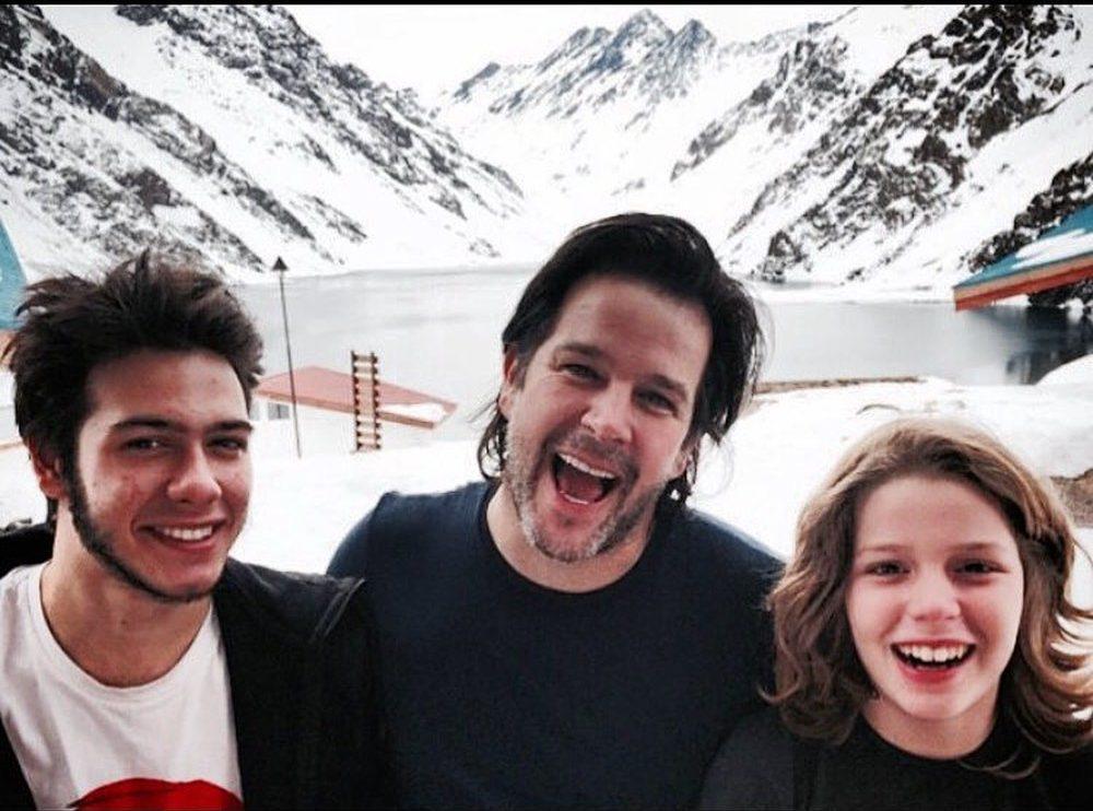 Antonio, Murilo Benício e Pedro (Foto: Divulgação)