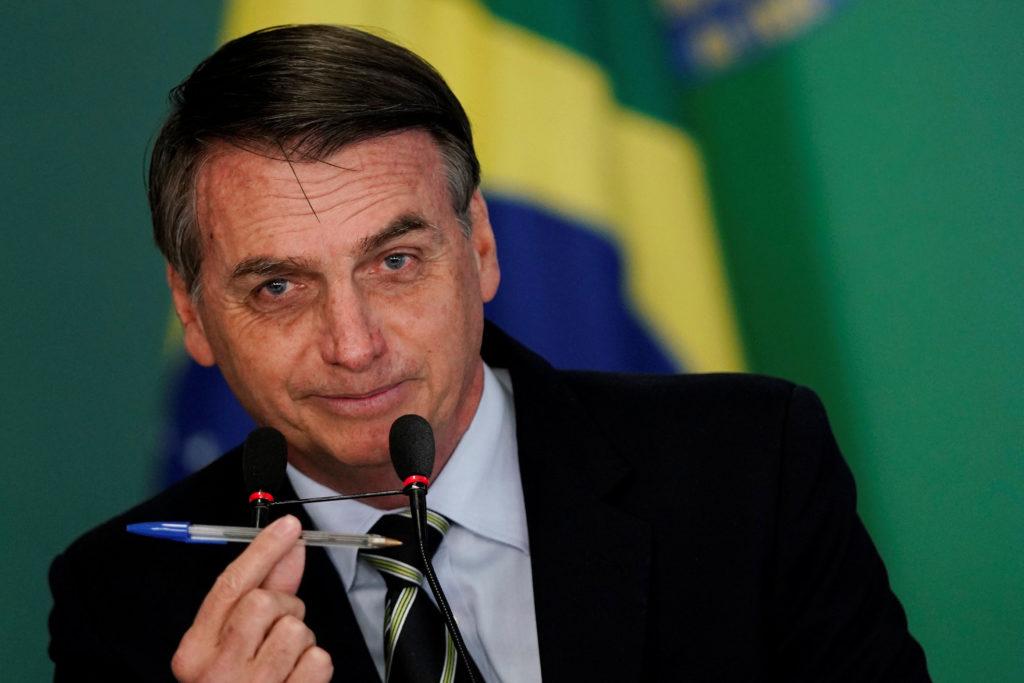 O presidente da República, Jair Bolsonaro (Foto: REUTERS/Ueslei Marcelino)