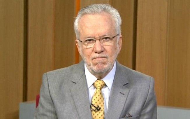 O jornalista Alexandre Garcia (Foto: Reprodução/Globo)
