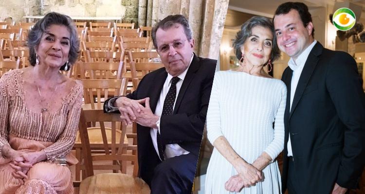 Betty Faria, Daniel Filho e João de Faria Daniel