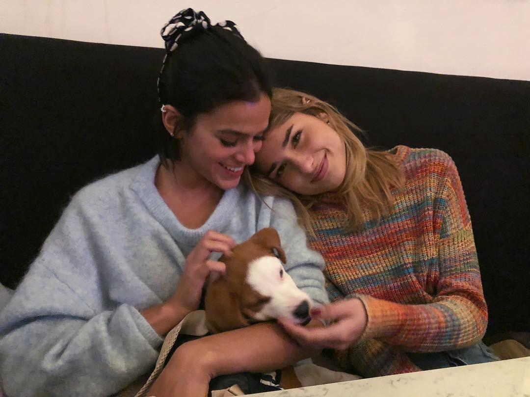 Bruna Marquezine, Sasha e Amendoa (Foto: Reprodução/Instagram)