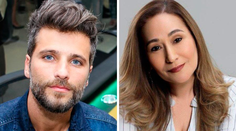 Bruno Gagliasso e Sonia Abrão (Foto: Divulgação)