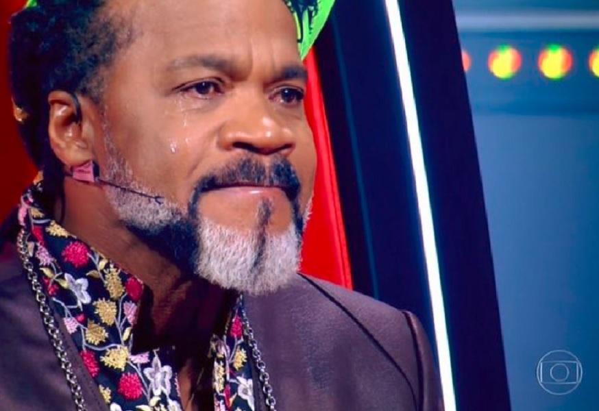 Carlinhos Brown no The Voice Kids (Foto: Reprodução/Globo)
