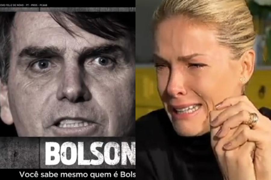 Ana Hickmann e Jair Bolsonaro (Foto: Reprodução)