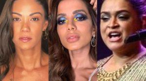 Após Preta Gil, Anitta leva Kamilla Fialho e famosos da Globo ao seu aniversário (Foto: Reprodução)