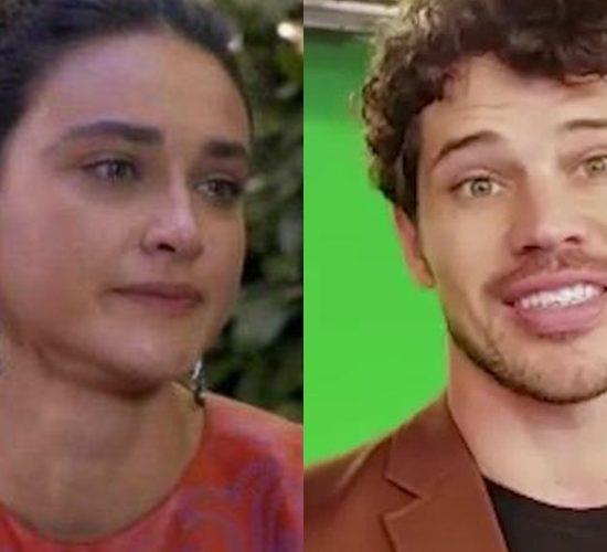 Débora Nascimento e José Loreto (Foto: Reprodução)