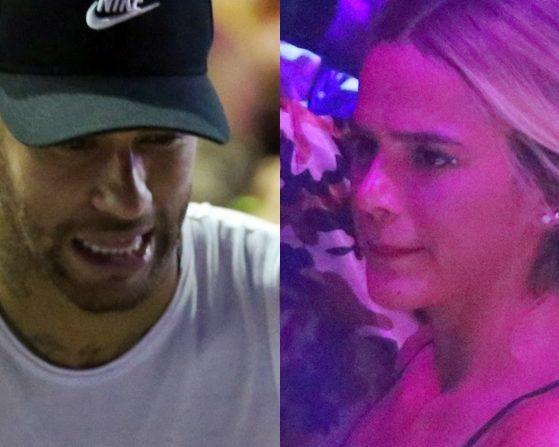 Neymar e Bruna Marquezine em Salvador (Foto: AgNews)