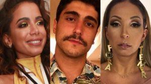 Anitta, Thiago Magalhães e Valesca Popozuda (Foto: Reprodução)