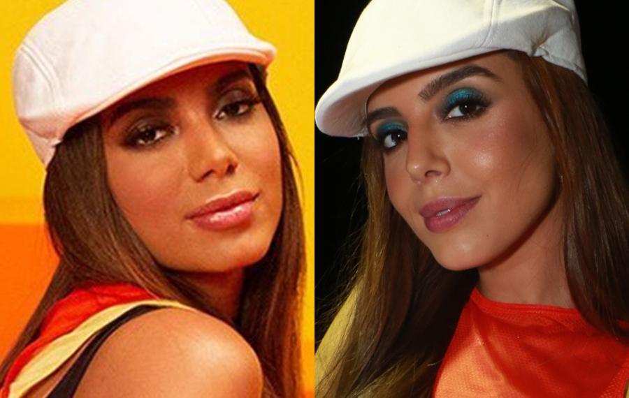 Anitta e Giovanna Lancellotti disputavam Neymar com Bruna Marquezine (Foto: Reprodução)