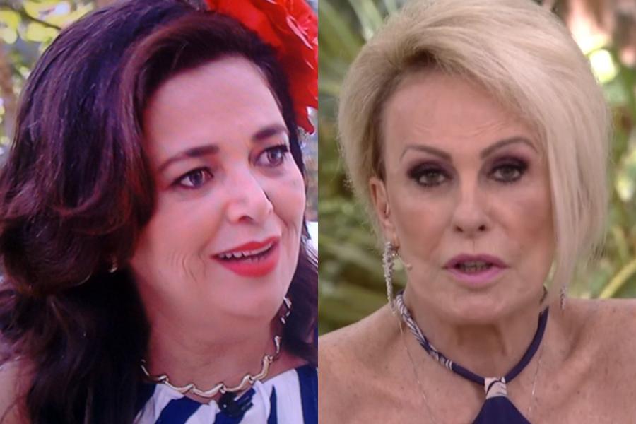 Tereza na Ana Maria Braga (Foto: Reprodução)