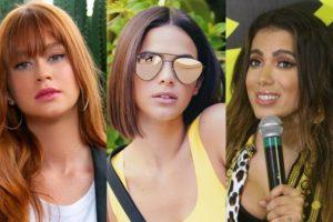 Marina Ruy Barbosa, Bruna Marquezine e Anitta (Foto: Reprodução)