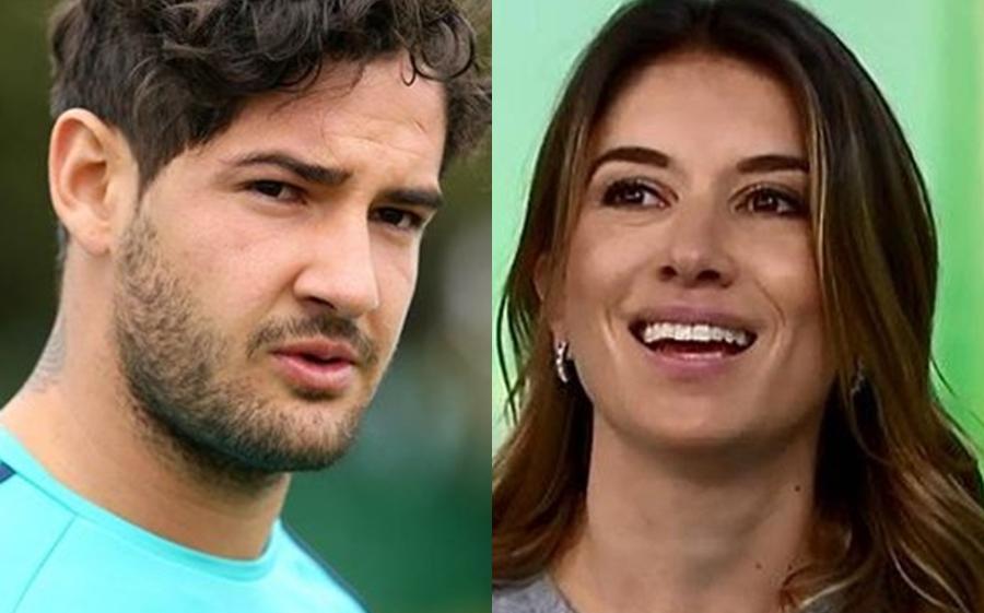 Alexandre Pato e Rebeca Abravanel (Foto: Reprodução)