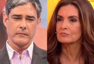 William Bonner e Fátima Bernardes se separaram em 2016 (Foto: Reprodução)