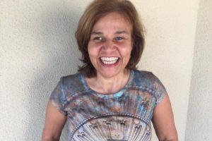 A comediante Claudia Rodrigues