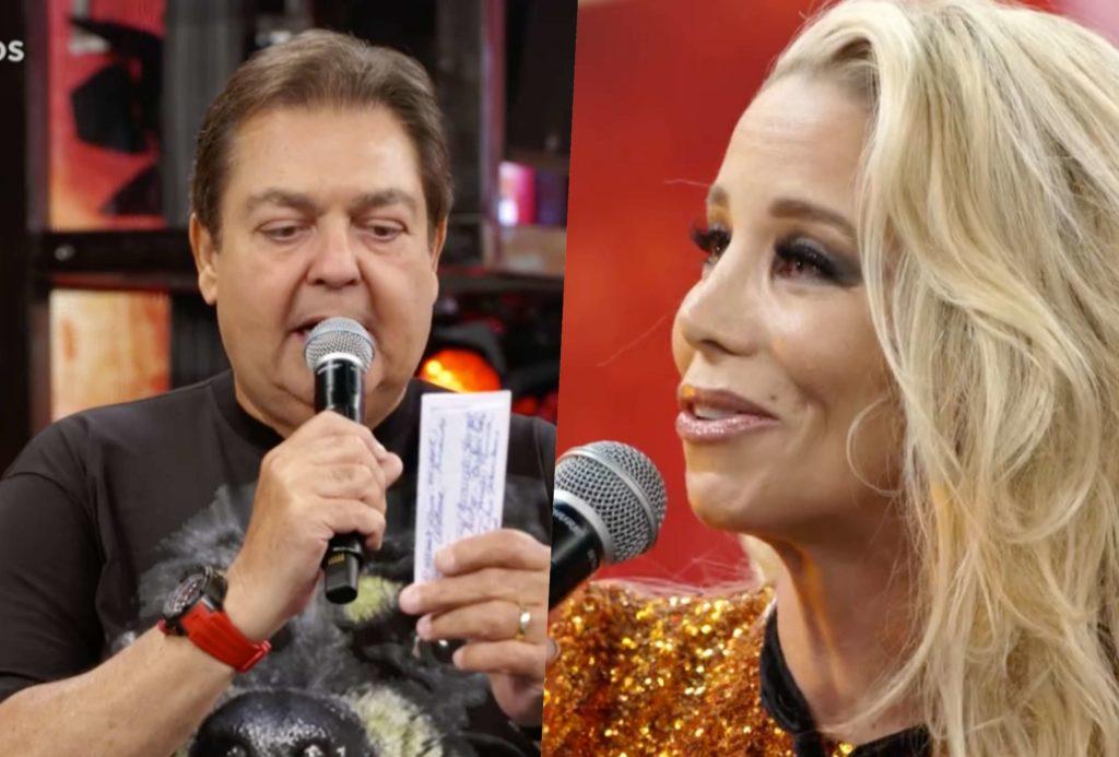 Danielle Winits ficou muito emocionada com retorno à Globo (Foto reprodução)