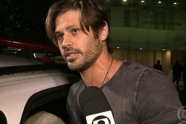 Dado Dolabella antes de ser preso na Globo