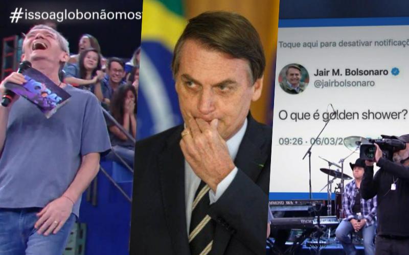 Bolsonaro virou sátira novamente do Isso a Globo Não Mostra dentro do Fantástico