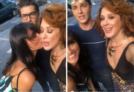 Débora Nascimento, Klebber Toledo e Claudia Raia (Foto: Divulgação)
