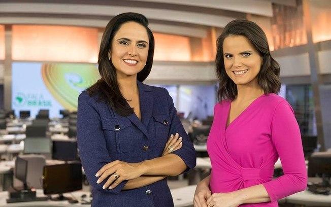 Carla Cecato e Roberta Piza (Foto: Reprodução)