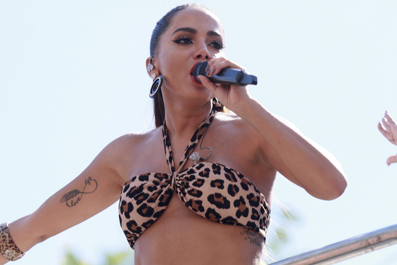 Anitta no Bloco das Poderosas (Foto: Divulgação)