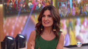 """Fátima Bernardes em seu programa """"Encontro"""" na Globo (Foto: Imagem/ Reprodução)"""
