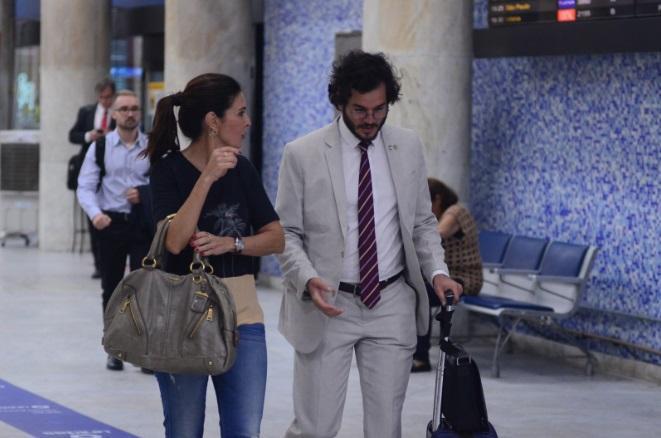 Fátima Bernardes e Túlio Gadêlha (Foto: Divulgação)