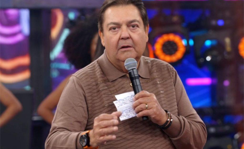 Faustão na Globo (Foto reprodução)