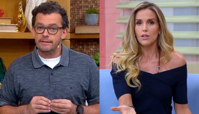 Fernando Rocha e Mariana Ferrão no Bem Estar (Foto: Reprodução/Globo)