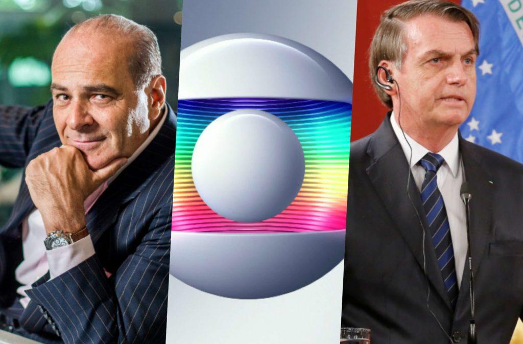 Marcelo de Carvalho fala de guerra da Globo contra Bolsonaro (Foto reprodução)