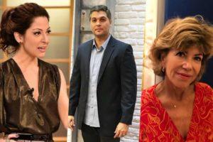 Ana Paula Padrão, Joel Datena e Silvia Poppovic chegam com novidades na Band (Foto montagem: TV Foco)