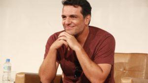 mateus solano globo O ator Rodrigo Lombardi no lançamento da segunda temporada da série Carcereiros (Foto: Globo/Marcos Rosa)