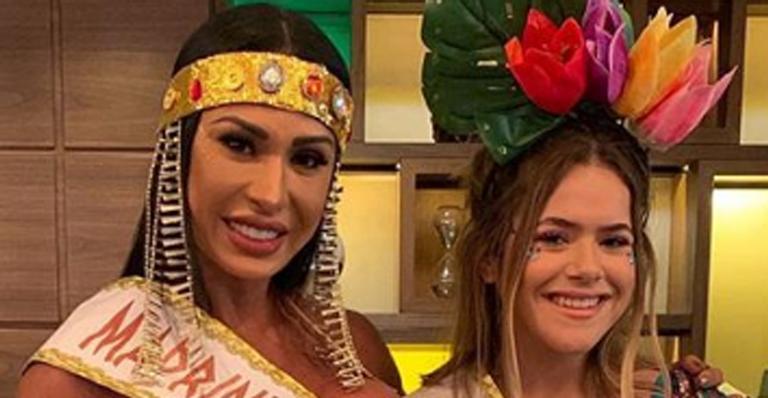 Gracyanne Barbosa e Maisa (Foto: Divulgação)