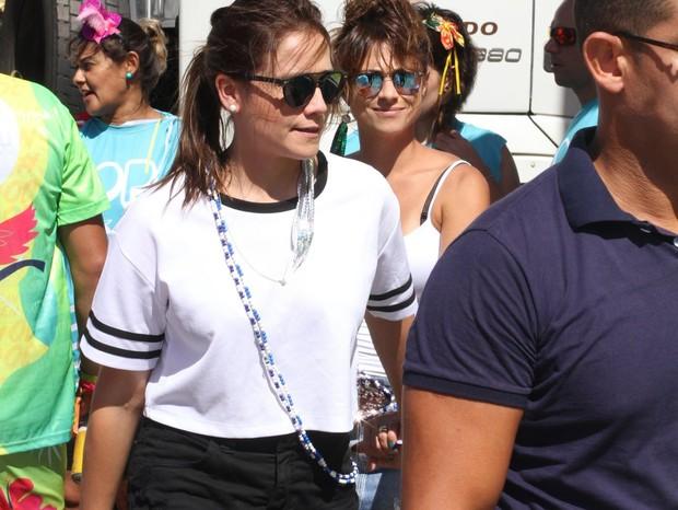 Fernanda Gentil e Priscila Montandon (Foto: Daniel Delmiro/AgNews)