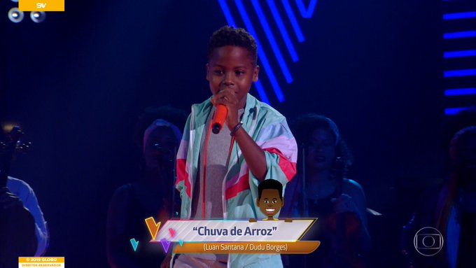 Jeremias no The Voice Kids (Foto: Reprodução)