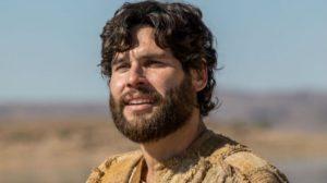 O protagonista Dudu Azevedo em cena da novela Jesus (Foto: Reprodução/Record)
