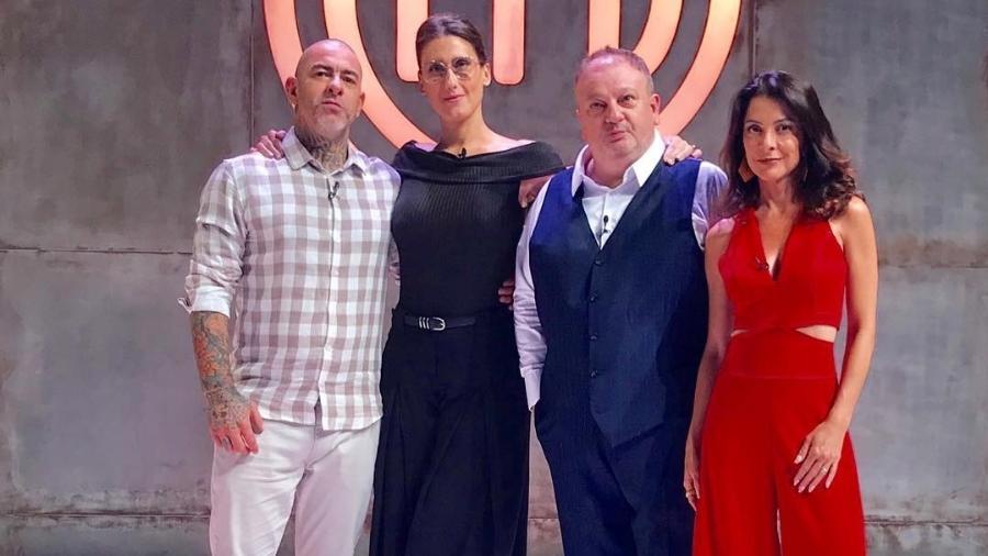 O time de jurados e a apresentadora do MasterChef Brasil (Foto: Reprodução)