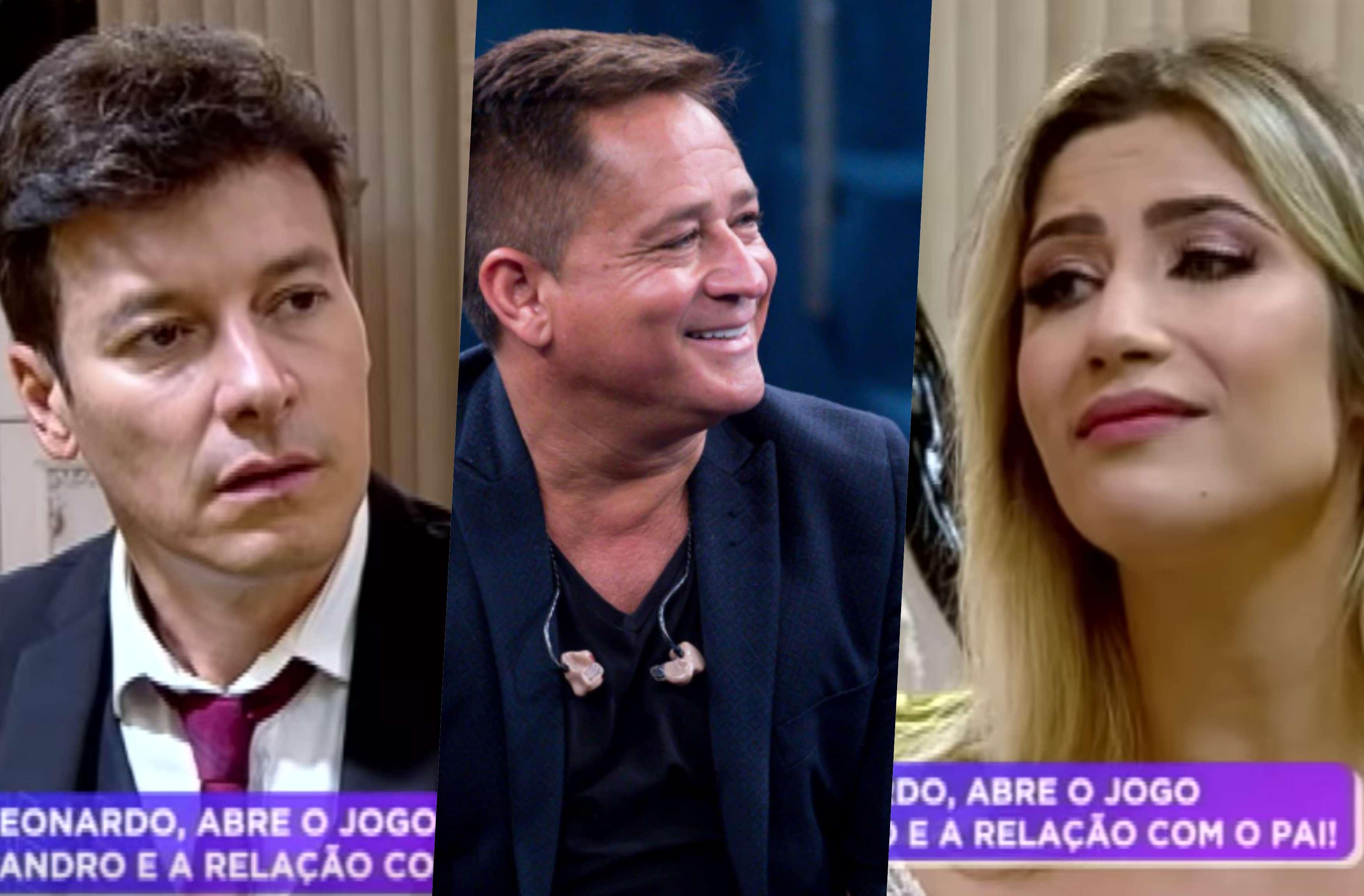 Cantor Leonardo não aprova casamento da filha, Jessica Costa com Sandro Pedroso (Foto reprodução)