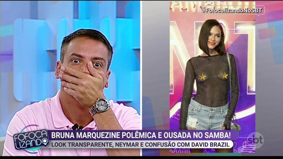Leo Dias fala sobre Bruna Marquezine no Fofocalizando