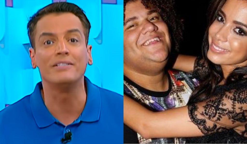 O jornalista Leo Dias, Gominho e Anitta esclareceram polêmica. (Foto: Reprodução/Montagem)