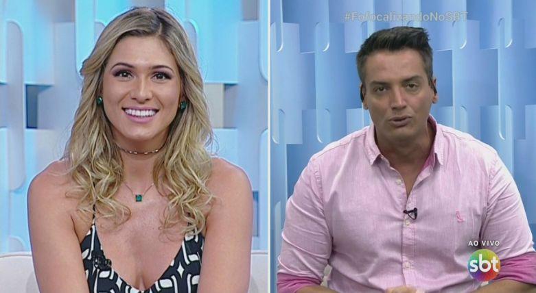 Lívia Andrade e Leo Dias (Foto: Divulgação